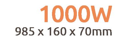 1000w Apollo Infrared Bar Heater