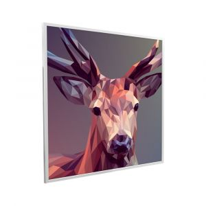 595x595 A Deer In Pixels Picture NXT Gen Infrared Heating Panel 350W - Brand New (Black Frame)
