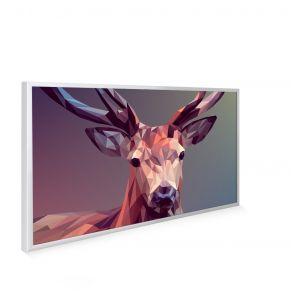 595x995 A Deer In Pixels Image NXT Gen Infrared Heating Panel 580W - Black Frame (Grade A)