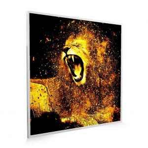 595x595 Roaring Lion Printed NXT Gen Infrared Heating Panel 350W (Grade A)