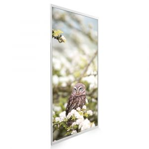 595x1195 Owl In The Spring Picture NXT Gen Infrared Heating Panel 700W - Electric Wall Panel Heater