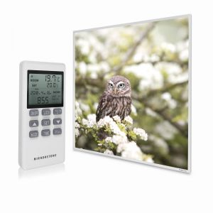 595x595 Owl In The Spring Picture NXT Gen Infrared Heating Panel 350W - Electric Wall Panel Heater