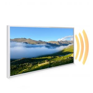 595x995 Rolling Cloud Image NXT Gen Infrared Heating Panel 580W - Electric Wall Panel Heater