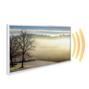 595x995 Spring Morning Picture NXT Gen Infrared Heating Panel 580W - Electric Wall Panel Heater