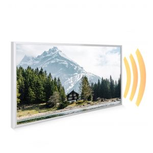 595x995 Swiss Chalet Picture NXT Gen Infrared Heating Panel 580W - Electric Wall Panel Heater