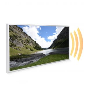 595x995 Welsh Valley Picture NXT Gen Infrared Heating Panel 580W - Electric Wall Panel Heater