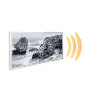 595x1195 Stormy Shore Picture NXT Gen Infrared Heating Panel 700W - Electric Wall Panel Heater