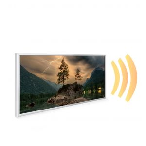 595x1195 Thunder Mountain Picture NXT Gen Infrared Heating Panel 700W - Electric Wall Panel Heater