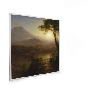 595x595 Tropical Scenery Picture NXT Gen Infrared Heating Panel 350W - Electric Wall Panel Heater