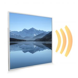 595x595 Arctic Lake Picture NXT Gen Infrared Heating Panel 350W - Electric Wall Panel Heater