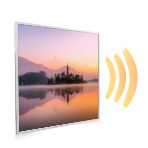 595x595 Dreamy Lake Picture NXT Gen Infrared Heating Panel 350W - Electric Wall Panel Heater