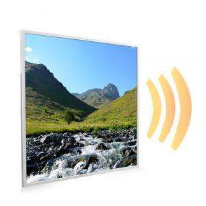 595x595 Glacial Brook Image NXT Gen Infrared Heating Panel 350W - Electric Wall Panel Heater