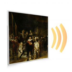 595x595 The Night Watch Picture NXT Gen Infrared Heating Panel 350W - Electric Wall Panel Heater