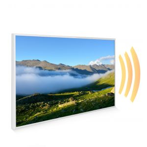 795x1195 Rolling Cloud Image NXT Gen Infrared Heating Panel 900W - Electric Wall Panel Heater