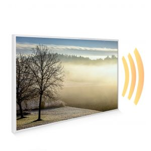 795x1195 Spring Morning Picture NXT Gen Infrared Heating Panel 900W - Electric Wall Panel Heater