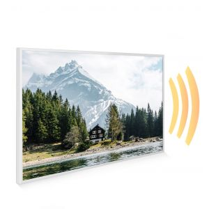 795x1195 Swiss Chalet Picture NXT Gen Infrared Heating Panel 900W - Electric Wall Panel Heater