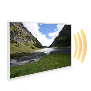 795x1195 Welsh Valley Picture NXT Gen Infrared Heating Panel 900W - Electric Wall Panel Heater