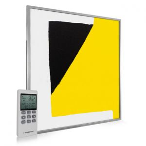 995x1195 Abstract Block Paint Picture NXT Gen Infrared Heating Panel 1200W - Electric Wall Panel Heater