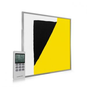 595x595 Abstract Block Paint Image NXT Gen Infrared Heating Panel 350W - Electric Wall Panel Heater