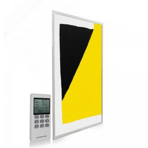 595x995 Abstract Block Paint Picture NXT Gen Infrared Heating Panel 580W - Electric Wall Panel Heater
