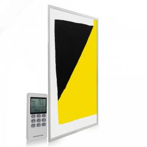 595x1195 Abstract Block Paint Image NXT Gen Infrared Heating Panel 700W - Electric Wall Panel Heater