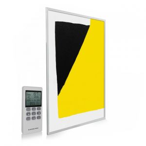 795x1195 Abstract Block Paint Picture NXT Gen Infrared Heating Panel 900W - Electric Wall Panel Heater