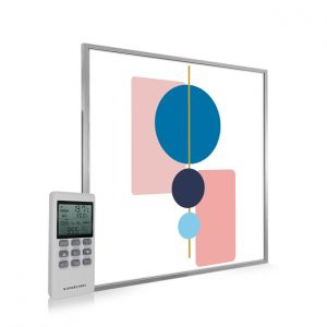 595x595 Abstract Geometry Image NXT Gen Infrared Heating Panel 350W - Electric Wall Panel Heater