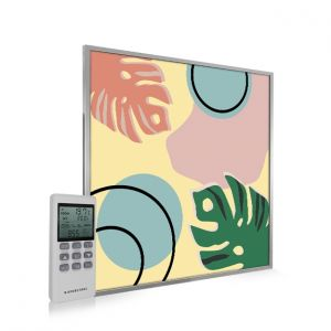 595x595 Abstract Leaves Image NXT Gen Infrared Heating Panel 350W - Electric Wall Panel Heater