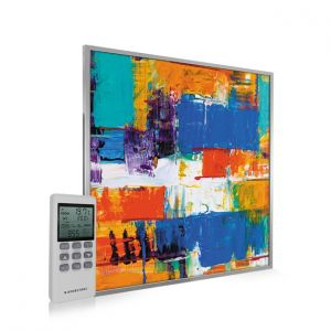 595x595 Abstract Paint Image NXT Gen Infrared Heating Panel 350W - Electric Wall Panel Heater