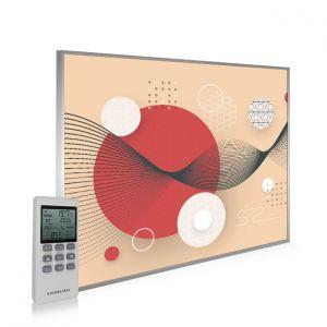 995x1195 Digital Zen Picture NXT Gen Infrared Heating Panel 1200W - Electric Wall Panel Heater