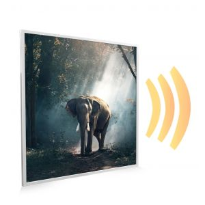 595x595 Jungle Elephant Image NXT Gen Infrared Heating Panel 350W - Electric Wall Panel Heater