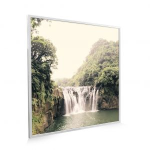 595x595 Forest Waterfall Image NXT Gen Infrared Heating Panel 350W - Brand New