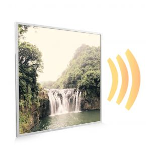 595x595 Forest Waterfall Image NXT Gen Infrared Heating Panel 350W - Electric Wall Panel Heater