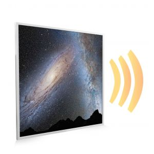 595x595 Galaxy Collision Picture NXT Gen Infrared Heating Panel 350W - Electric Wall Panel Heater