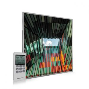 595x595 Geometric Architecture Image NXT Gen Infrared Heating Panel 350W - Electric Wall Panel Heater