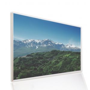 995x1195 Hills And Mountains Image NXT Gen Infrared Heating Panel 1200W - Electric Wall Panel Heater