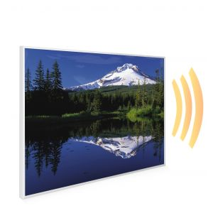 995x1195 Lakeside Mountain Picture NXT Gen Infrared Heating Panel 1200W - Electric Wall Panel Heater