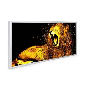 595x1195 Roaring Lion Image NXT Gen Infrared Heating Panel 700W - Grade A (Black Frame)