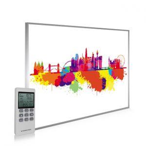 995x1195 London Skyline Splash Picture NXT Gen Infrared Heating Panel 1200W - Electric Wall Panel Heater