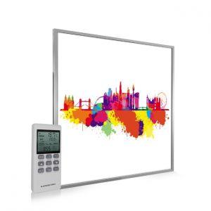 595x595 London Skyline Splash Image NXT Gen Infrared Heating Panel 350W - Electric Wall Panel Heater