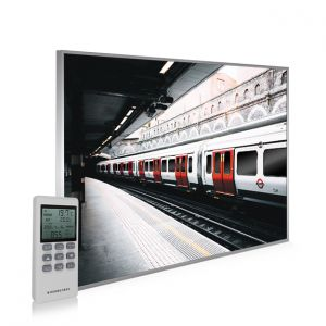 995x1195 London Underground Picture NXT Gen Infrared Heating Panel 1200W - Electric Wall Panel Heater