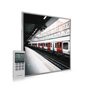 595x595 London Underground Image NXT Gen Infrared Heating Panel 350W - Electric Wall Panel Heater
