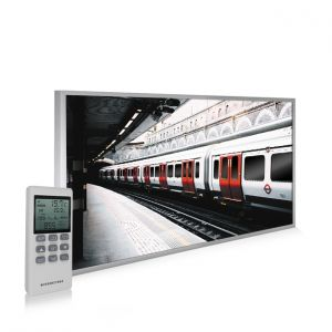 595x995 London Underground Picture NXT Gen Infrared Heating Panel 580W - Electric Wall Panel Heater