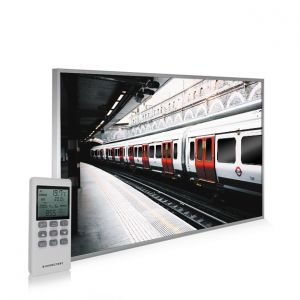 795x1195 London Underground Picture NXT Gen Infrared Heating Panel 900W - Electric Wall Panel Heater