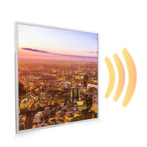 595x595 London Skyline Picture NXT Gen Infrared Heating Panel 350w - Electric Wall Panel Heater