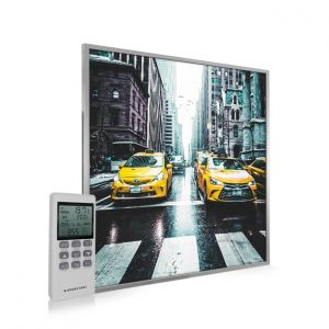 595x595 New York Taxi Image NXT Gen Infrared Heating Panel 350W - Electric Wall Panel Heater