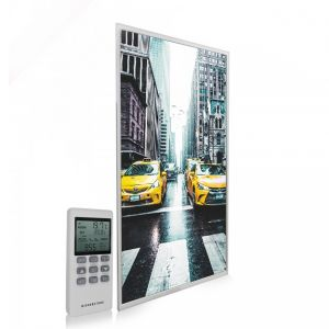 595x995 New York Taxi Picture NXT Gen Infrared Heating Panel 580W - Electric Wall Panel Heater