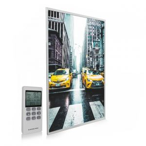 795x1195 New York Taxi Picture NXT Gen Infrared Heating Panel 900W - Electric Wall Panel Heater