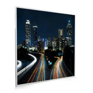 595x595 City Rush NXT Gen Infrared Heating Panel 350w - Grade A (White Frame)