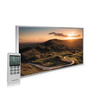 595x995 Rural Sunset Picture NXT Gen Infrared Heating Panel 580W - Electric Wall Panel Heater
